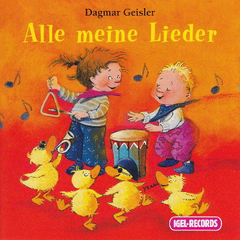 Cover der CD Alle meine Lieder (Illustration: Dagmar Geisler)