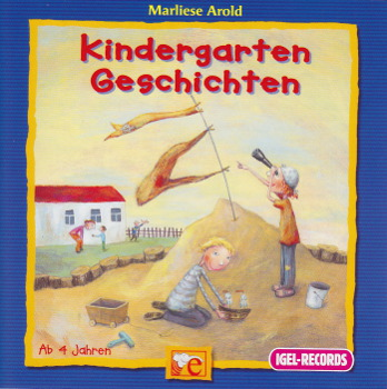 Cover der CD Kindergartengeschichten (Illustration: Alexandra Junge)
